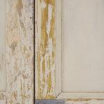 detailfoto deur trapkast